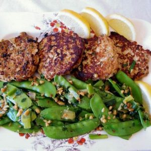 Low carb spicy chicken patties